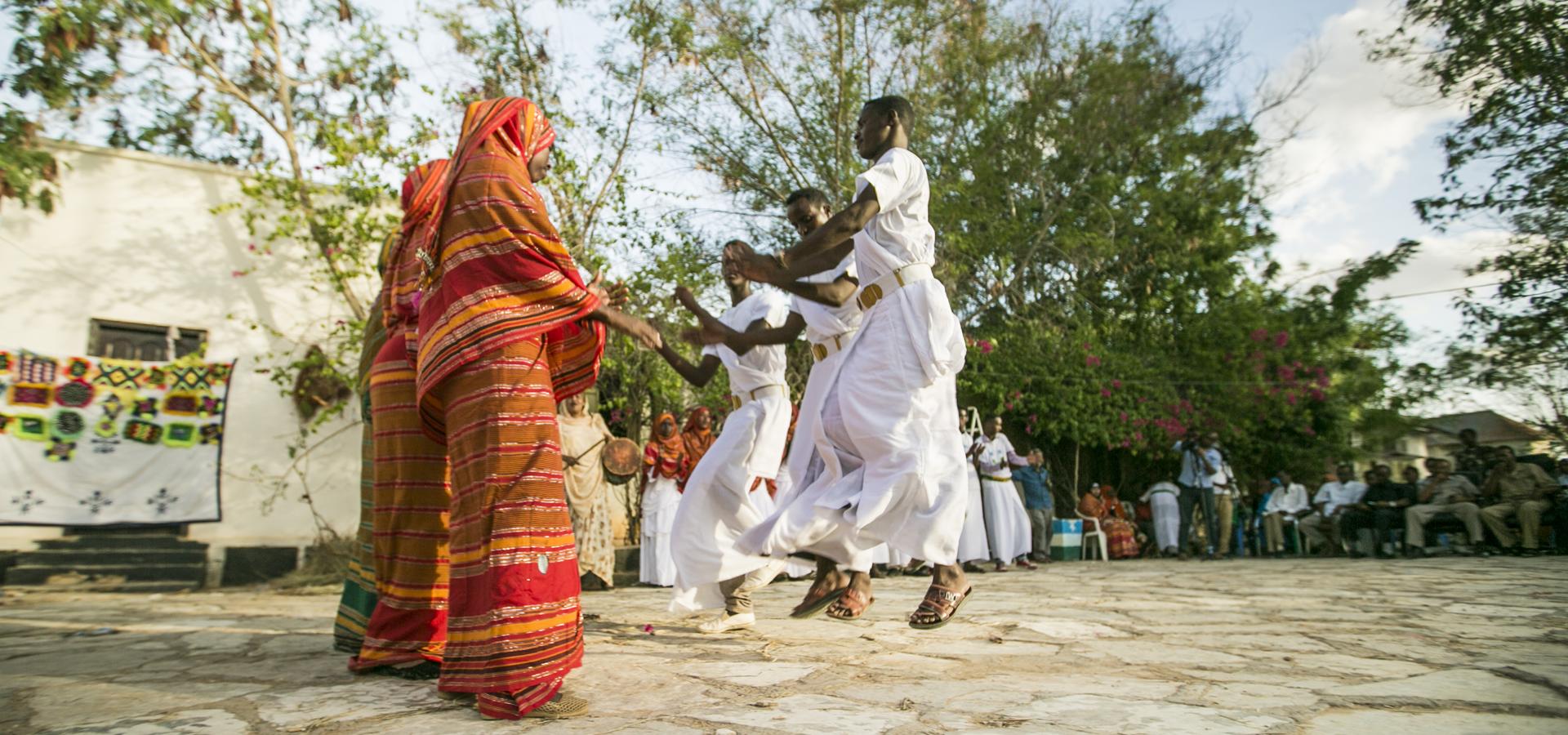 Peer-to-peer advisory in Garoowe, Somalia.