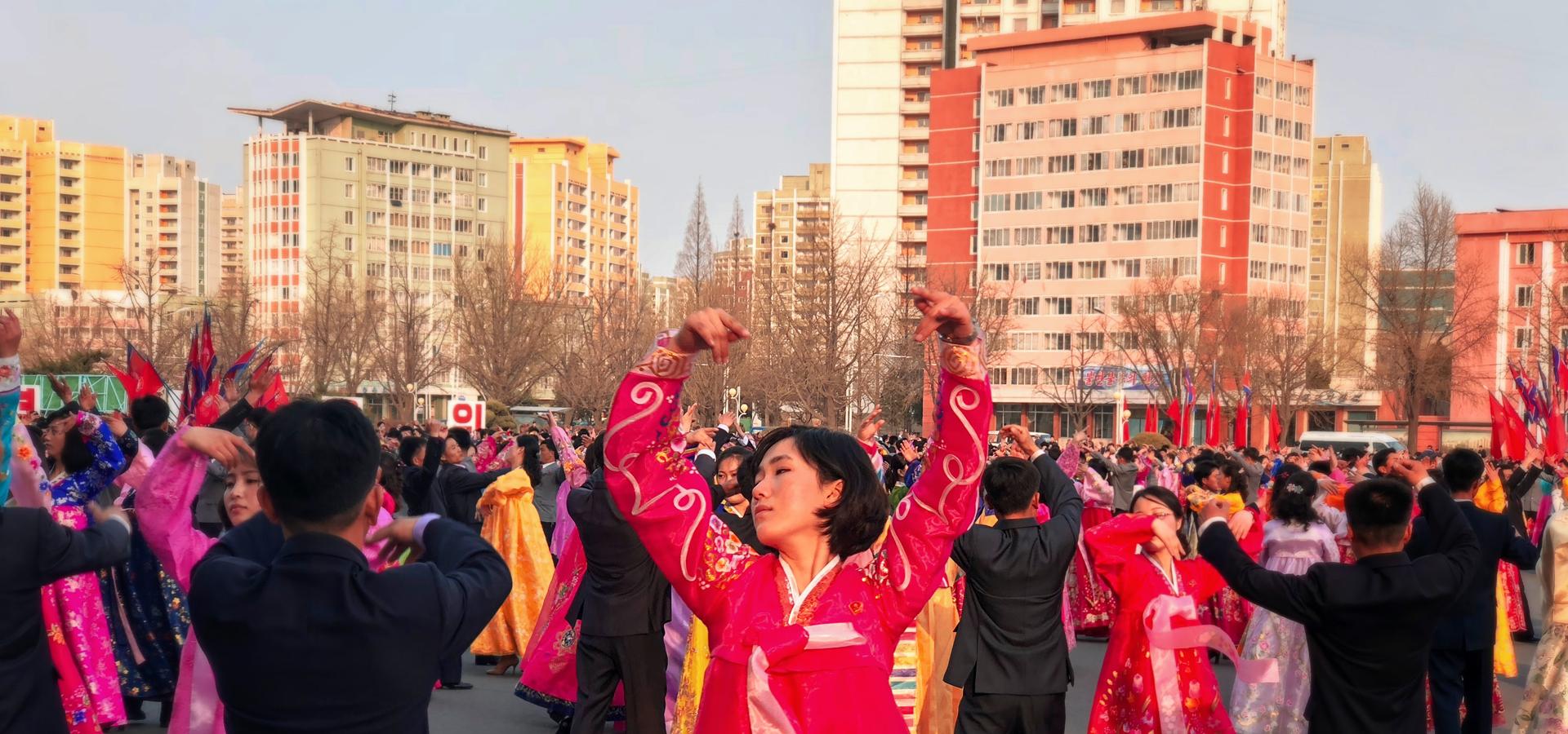 Peer-to-peer advisory in Pyongyang, North Korea
